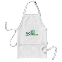 Bridesmaid Green Adult Apron