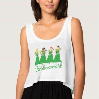 Bridesmaid Green Dress