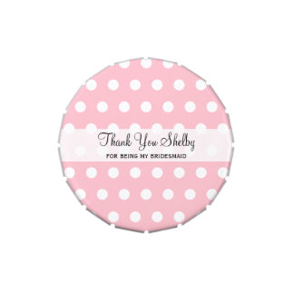 Bridesmaid Inexpensive Thank You Gifts Candy Tin