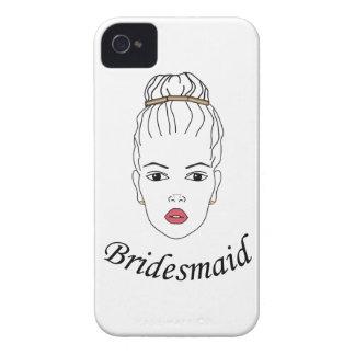 Bridesmaid iPhone 4 Case