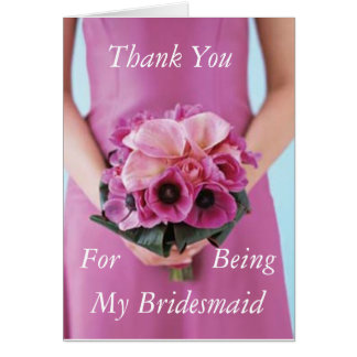 Bridesmaid Kit Poem Cards