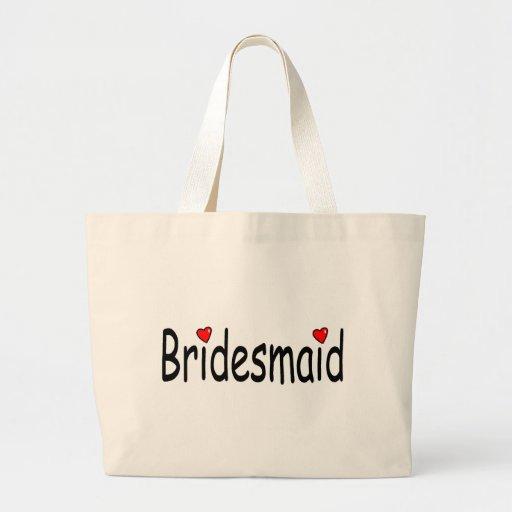 Bridesmaid Large Tote Bag