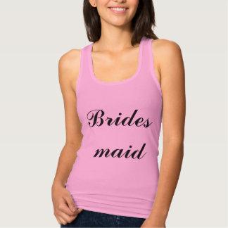 Bridesmaid Lilac Purple Weddings Trendy Simple Tank Top