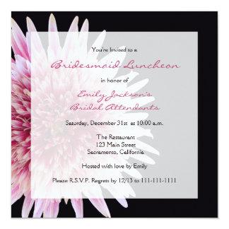 """Bridesmaid Luncheon Invitation 5.25"""" Square Invitation Card"""