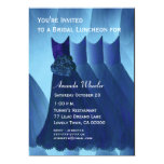 Bridesmaid Luncheon or Brunch Blue Dresses G569 Personalized Announcement
