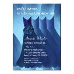 "Bridesmaid Luncheon or Brunch Blue Dresses G569 5"" X 7"" Invitation Card"