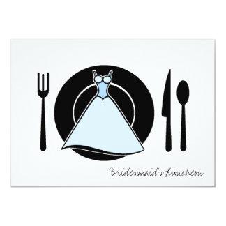 Bridesmaid Luncheon - Serving Set Card
