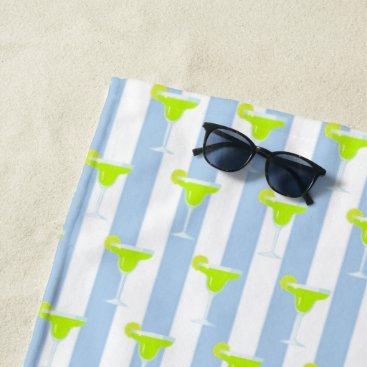 Beach Themed Bridesmaid Margarita Lime Fiesta Party Beach Towel