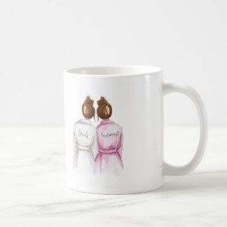 Bridesmaid? Mug Auburn Bun Bride Auburn Bun Maid
