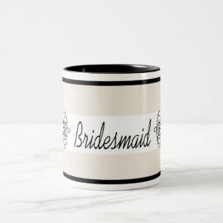 Bridesmaid Mug - Cream