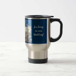 Bridesmaid Mugs Thank You being in Our Wedding