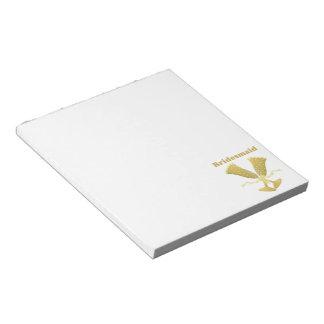 Bridesmaid Notepad