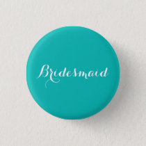 Bridesmaid Pin | Tiffany Blue Theme