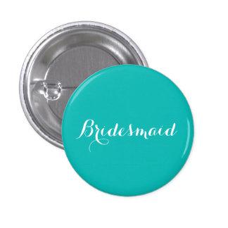 Bridesmaid Pin   Tiffany Blue Theme