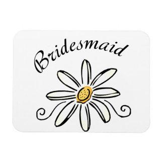Bridesmaid Rectangular Photo Magnet