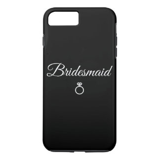 Bridesmaid ring iPhone 7 plus case