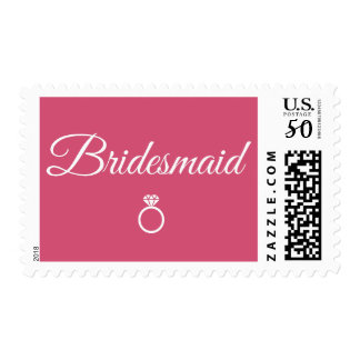 Bridesmaid ring postage