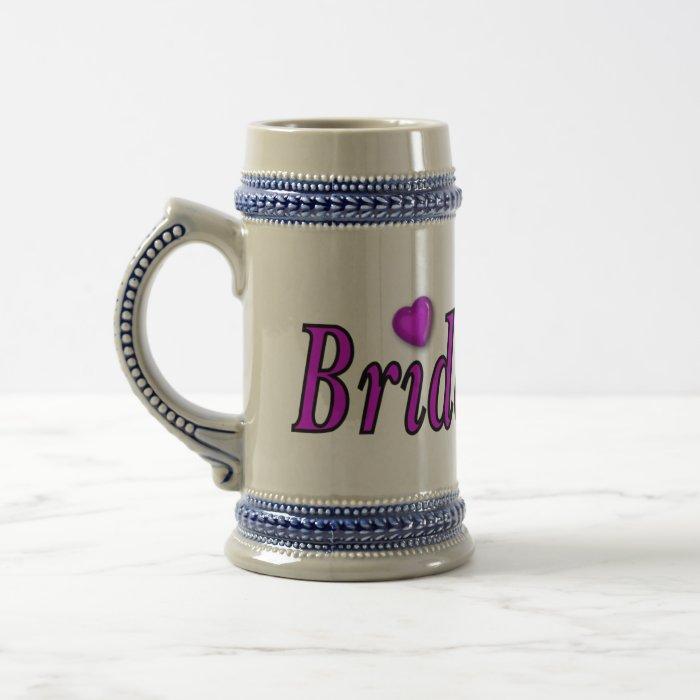 Bridesmaid Simply Love Beer Stein