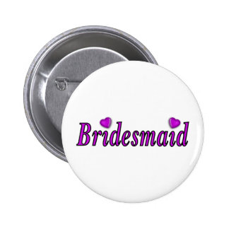 Bridesmaid Simply Love Buttons