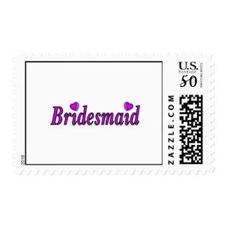 Bridesmaid Simply Love Postage