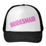 Bridesmaid (Slanted Pink) Hat