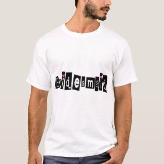 Bridesmaid (Sq Blk) T-Shirt