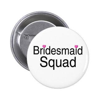 Bridesmaid Squad Button