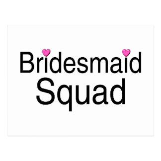 Bridesmaid Squad Postcard