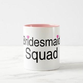 Bridesmaid Squad Two-Tone Coffee Mug