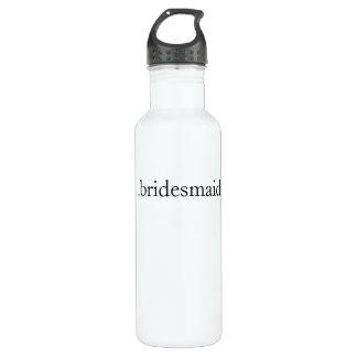 .bridesmaid stainless steel water bottle
