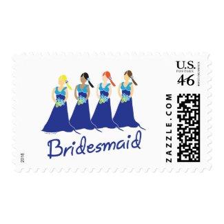 Bridesmaid Stamps stamp