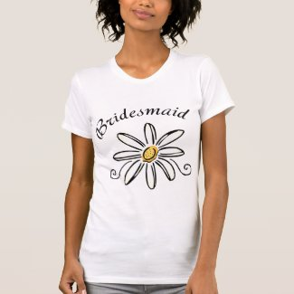 Bridesmaid tee shirt