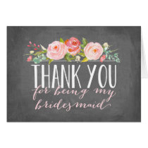 Bridesmaid Thank You   Bridesmaid