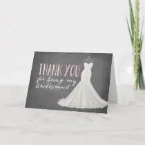 Bridesmaid Thank You | Bridesmaid