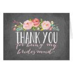 Bridesmaid Thank You | Bridesmaid Stationery Note Card
