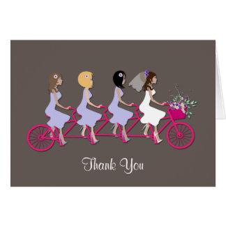 Bridesmaid Thank You Greeting Card