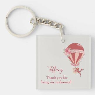 Bridesmaid Thank You Keychain