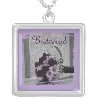 Bridesmaid Thank You Necklace