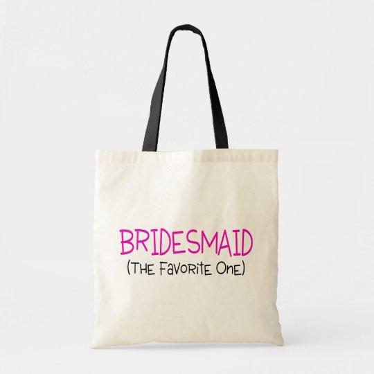 Bridesmaid The Favorite One Tote Bag