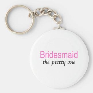 Bridesmaid (The Pretty One) Keychains