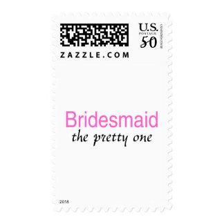 Bridesmaid (The Pretty One) Postage