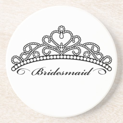 Bridesmaid Tiara Coaster