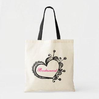 Bridesmaid Tote Canvas Bags