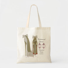 Bridesmaid Wedding Bag at Zazzle