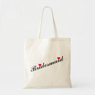 Bridesmaid Wedding Bridal Shower Elegant Tote Bag