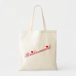 Bridesmaid Wedding Bridal Shower Stylish Tote Bag