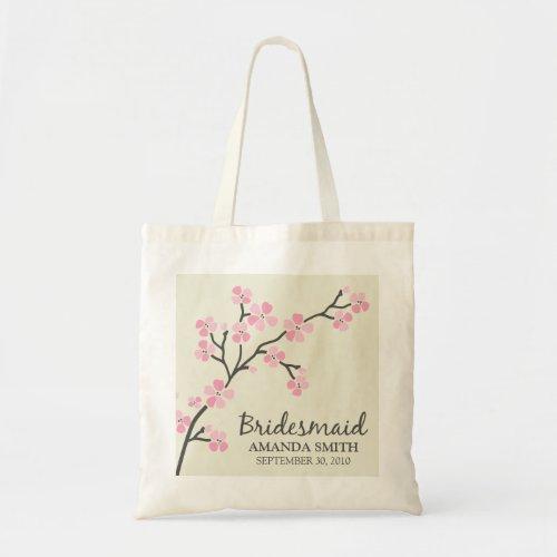 Bridesmaid Wedding Party Gift Bag (pink) bag
