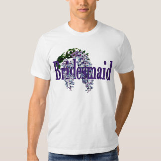 Bridesmaid/ Wisteria Wedding T-shirt