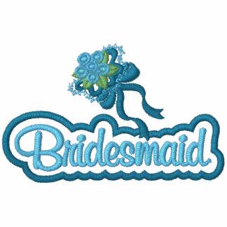 Bridesmaid with Bouquet Polo