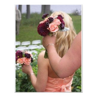 Bridesmaids Bouquets Invitation